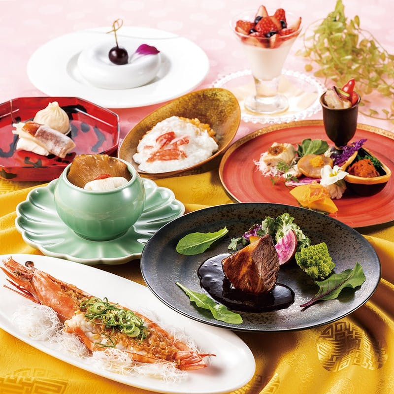 お料理個別盛り【薔薇(ばら)】牛フィレ肉のソテーなど全8品
