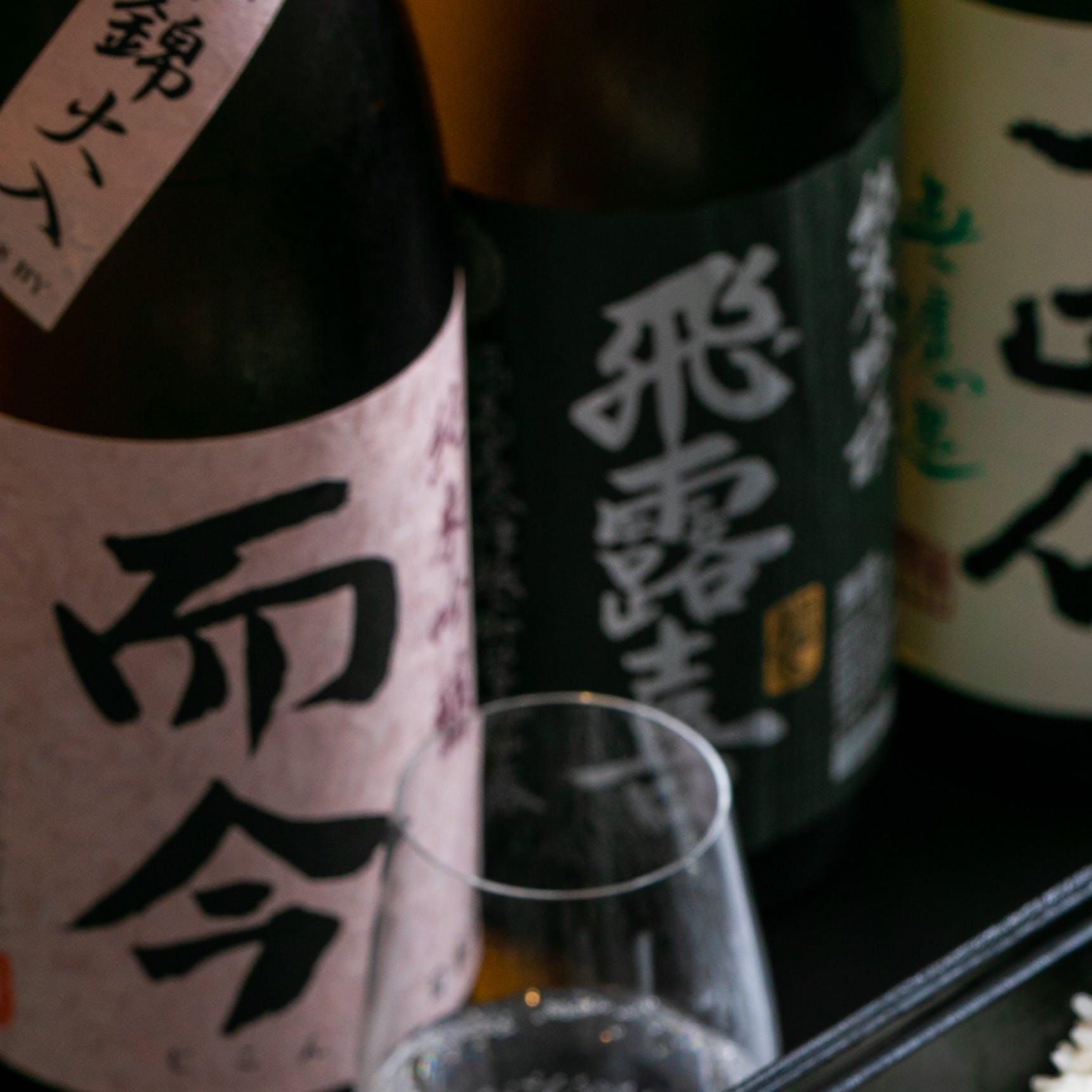 日本酒専門店TABIの日本酒