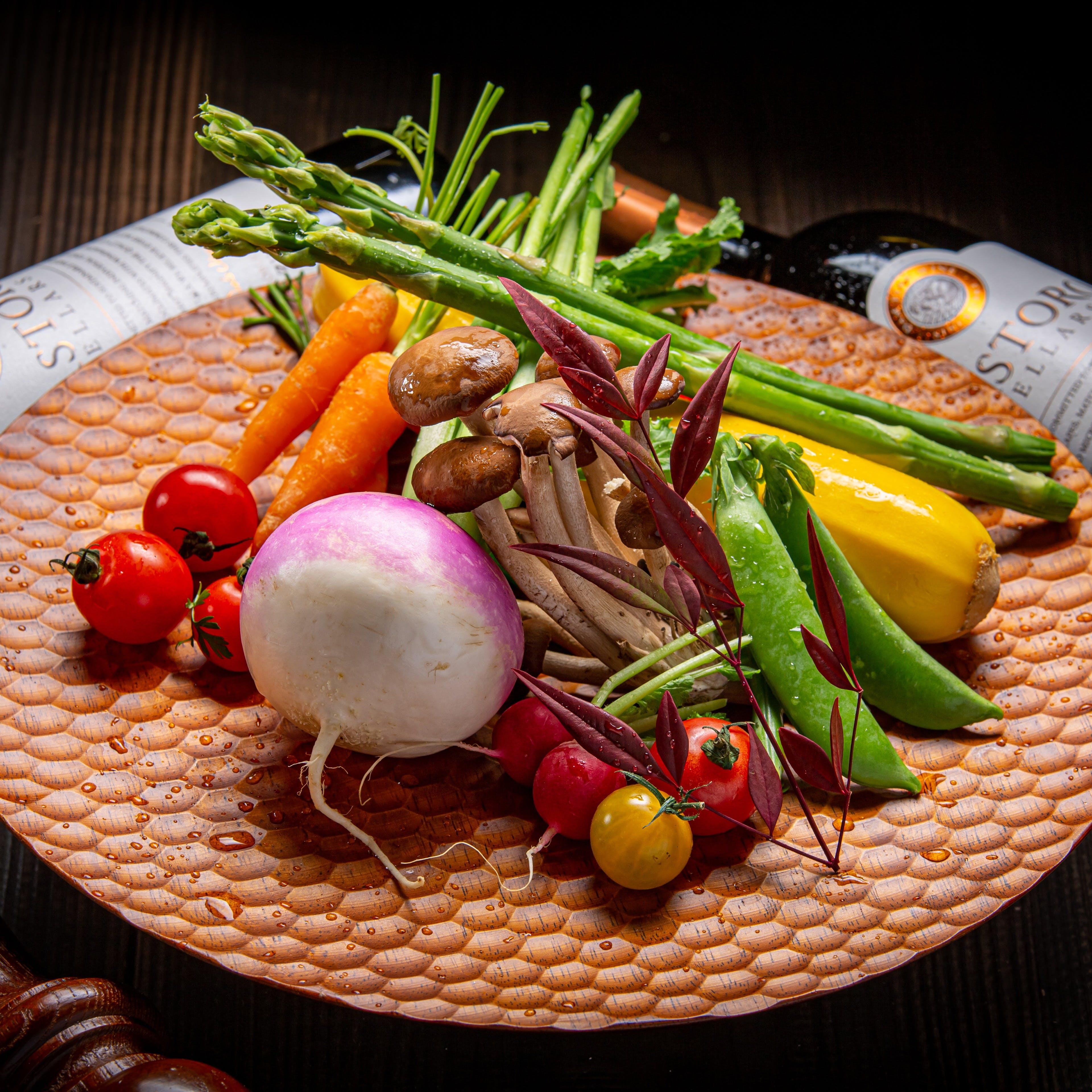 お好みで選べる季節の有機野菜