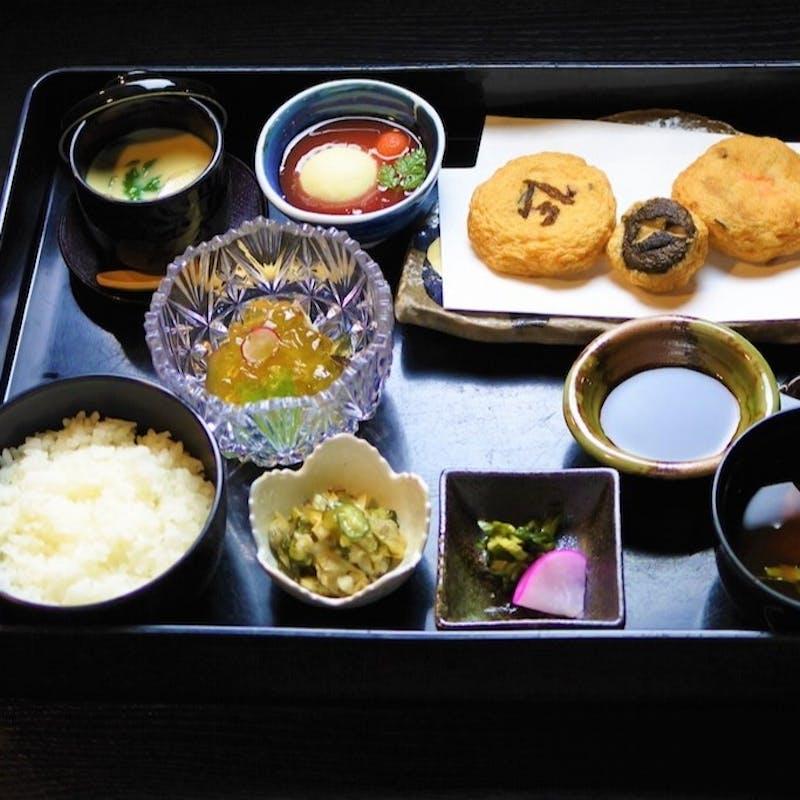 【御膳】メイン料理、小鉢、茶碗蒸し、お食事など(天ぷら御膳・リクエスト予約)