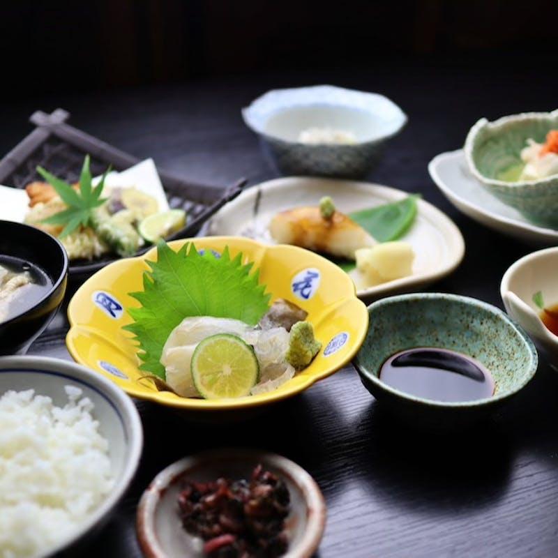 【クエライト】幻の高級魚「クエ」を少しずつの量でお召し上がりいただける特別メニュー(リクエスト予約)
