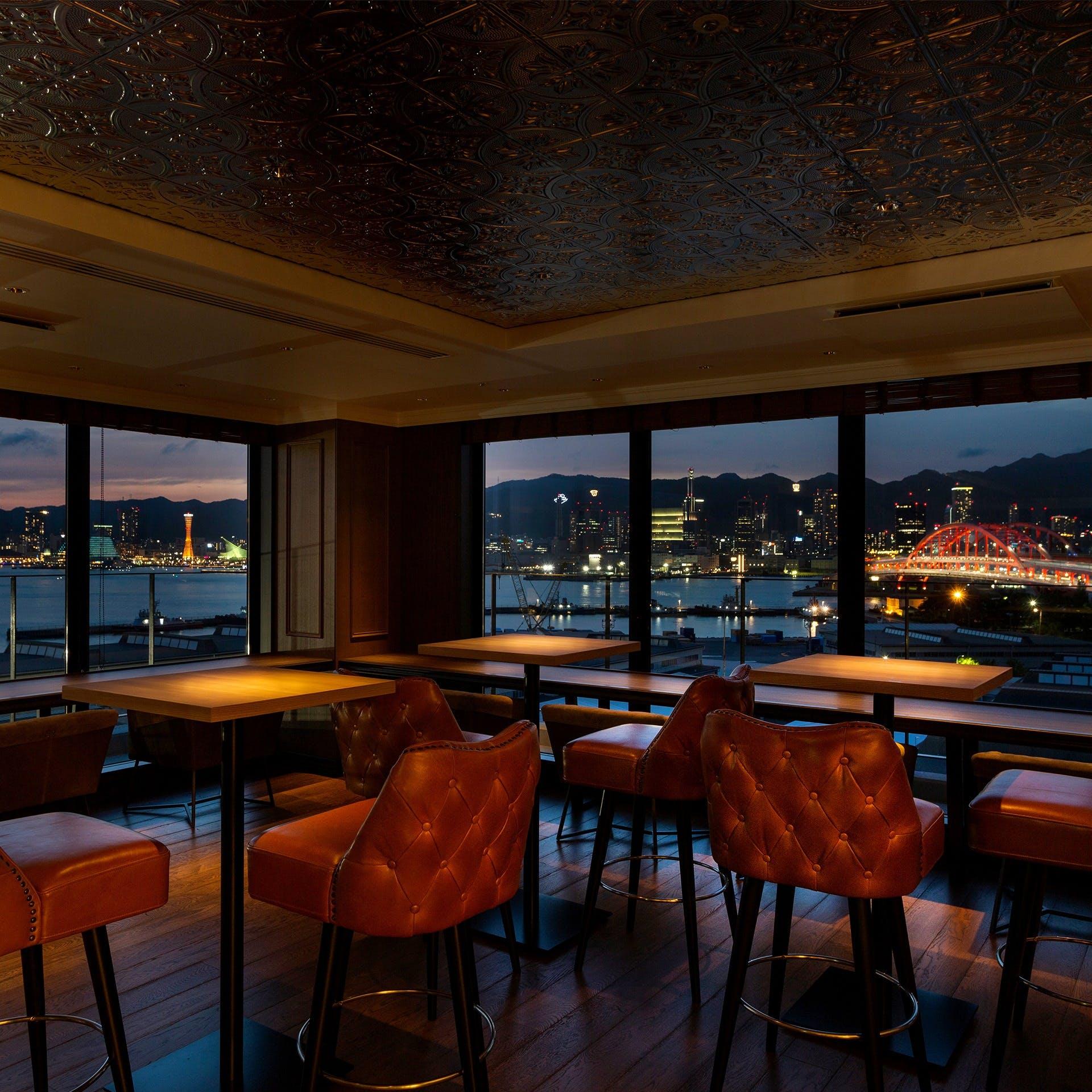 1000万ドルの夜景を楽しむ大人空間