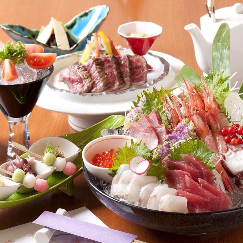 福井の美味を心ゆくまで堪能