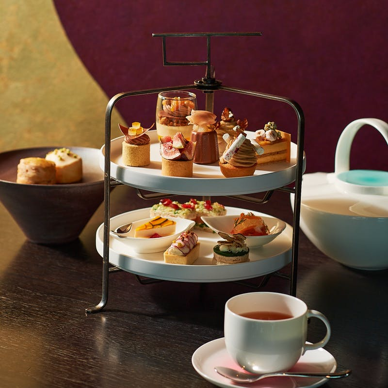 【Autumn Early Afternoon Tea SABOE Special Tea Set Plan】(11:00 限定特別価格・90分制)