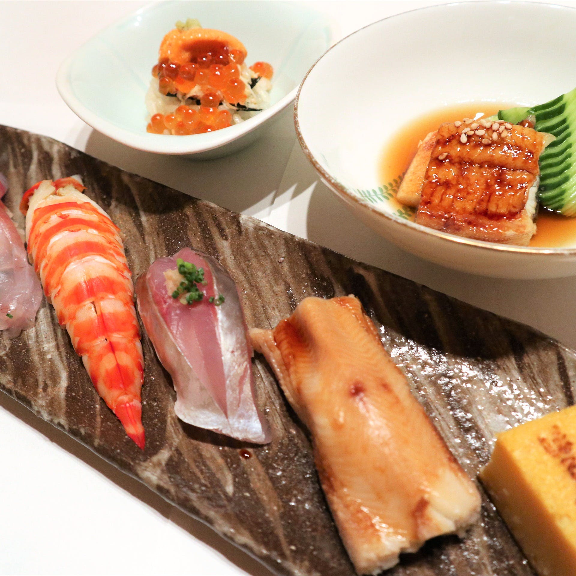 伝統的な江戸前鮨