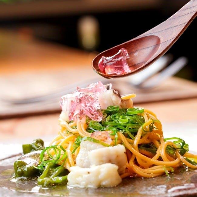京野菜をはじめ全国各地で店主が出会った食材でもてなすイタリアン