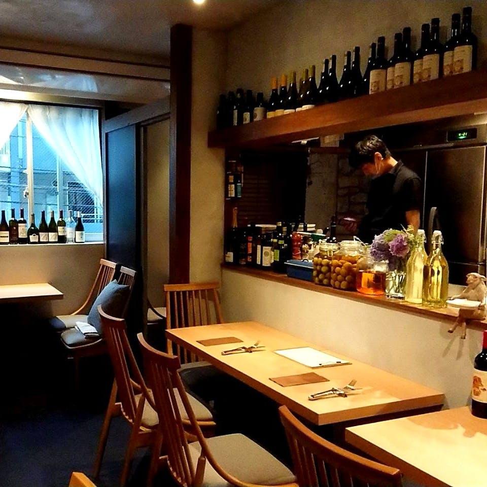 隠れ家的イタリアンレストラン