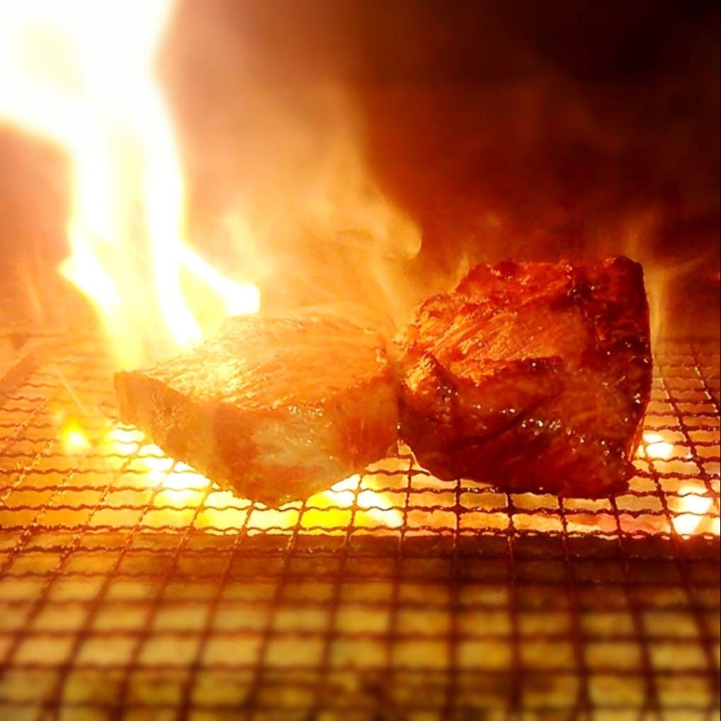 ボンコローネ自家製の薪窯焼き