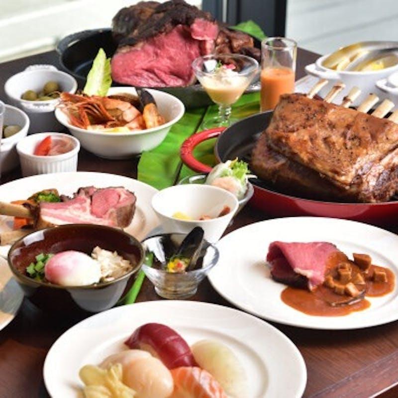 11月~【週末ブッフェ】ライブキッチンで焼くお肉を堪能!