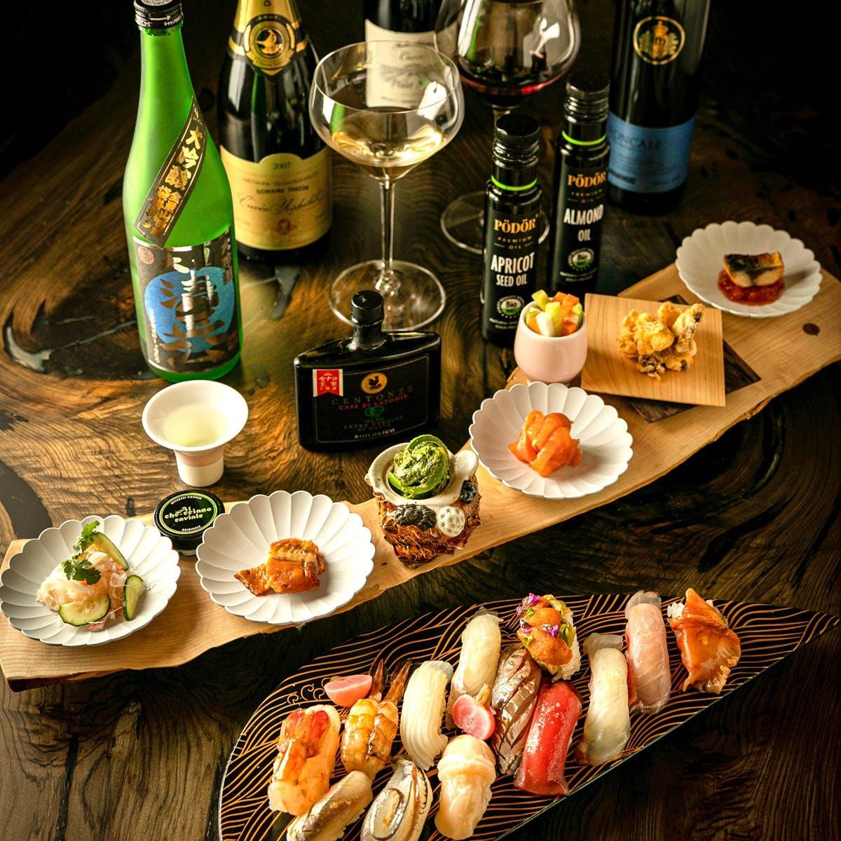 日本と世界の銘酒に酔う世界初の15種ペアリング