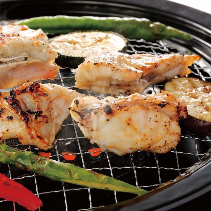 【焼きふぐコース】てっさ、ふぐ唐揚げ、焼きふぐ、ふぐ茶漬けorふぐ寿司など全6品