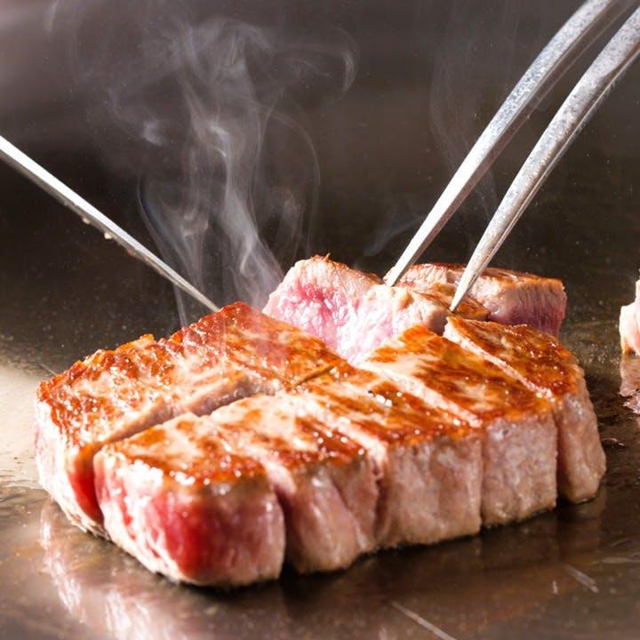 """ステーキの重量は""""正味の赤身""""の重量"""