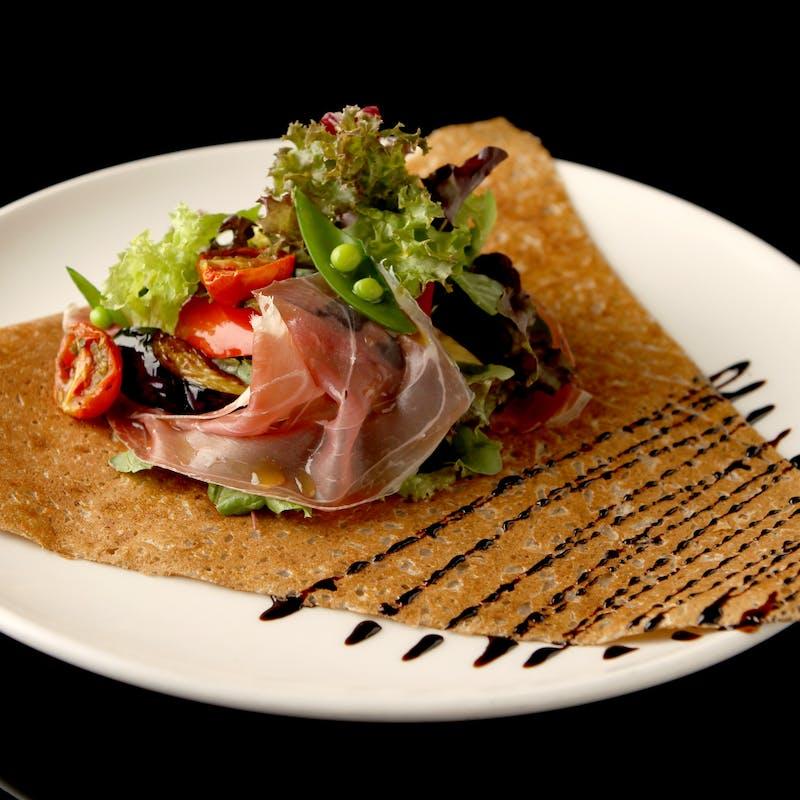 【MENU A】魚or肉orガレットから選べるメインなど全3品