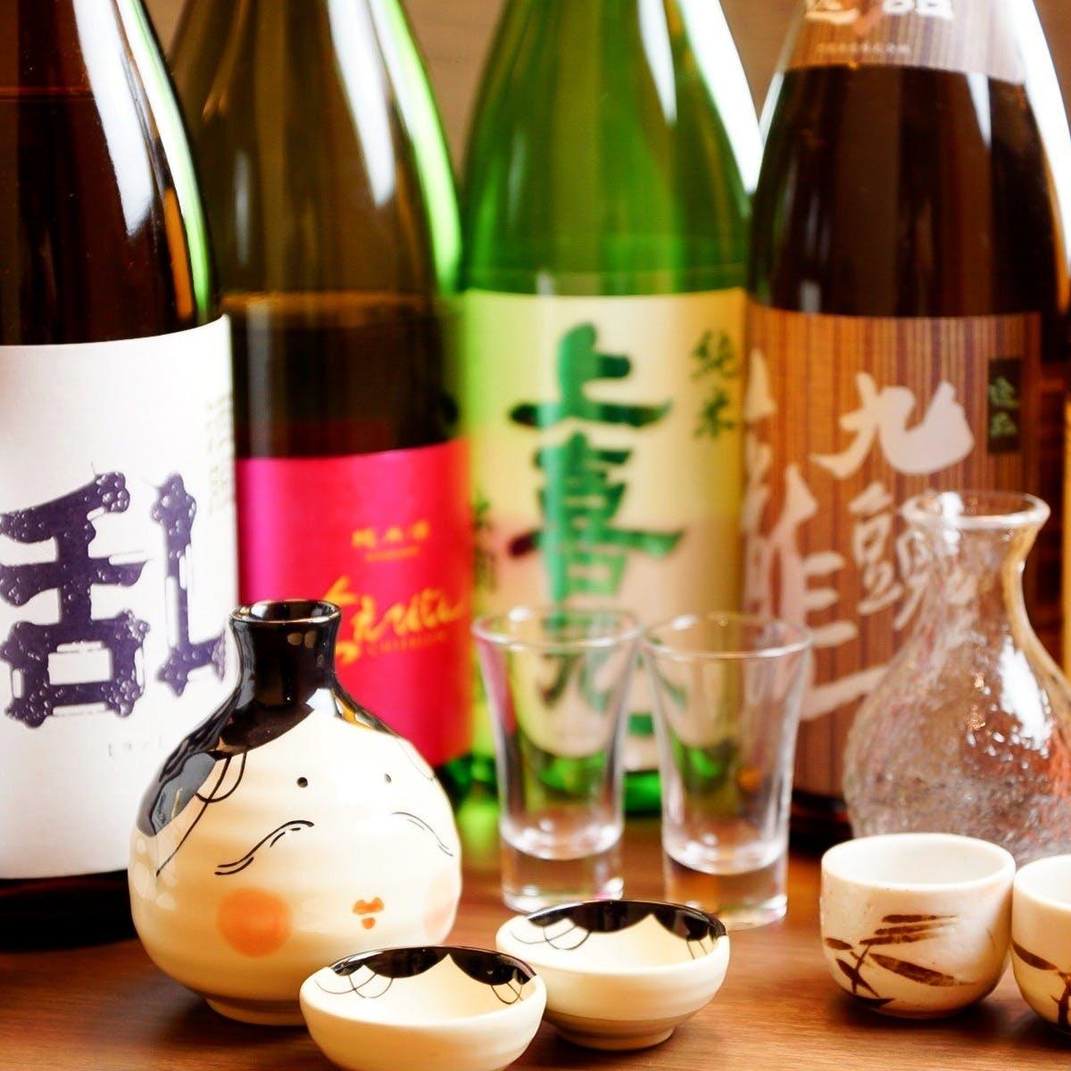 47都道府県の地酒をご用意