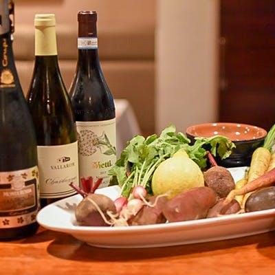 料理、ワインとともに愉しむ、店内イベント