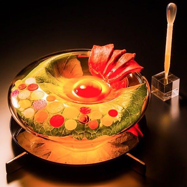 幅広いニーズに対応した珠玉の料理の数々