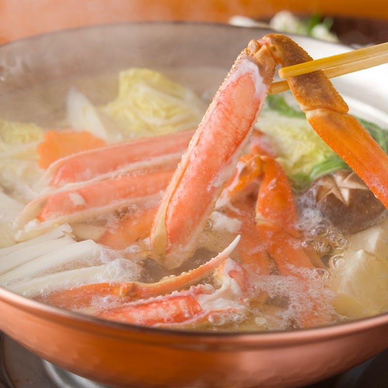 【旬菜小鍋会席】すき焼きなど選べる小鍋、お造り、季節の先付など みやびコース全8品+1ドリンク