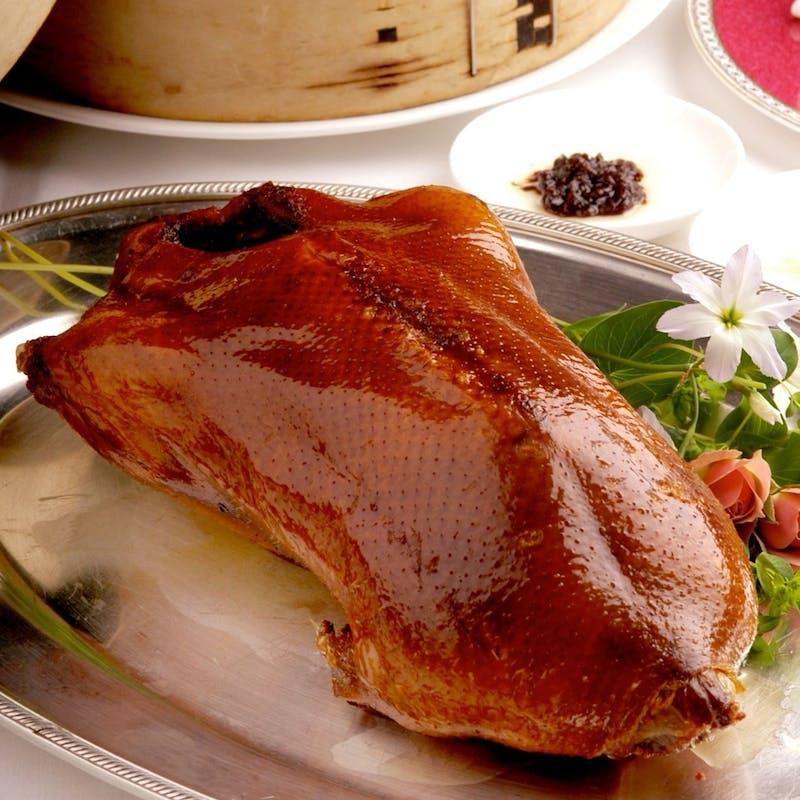 3月1日より 【料理長おまかせコース】北京ダックと厳選した旬の食材を盛り込んだおすすめコース