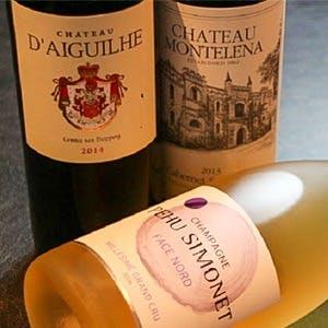 常時100種類取り揃えるワイン