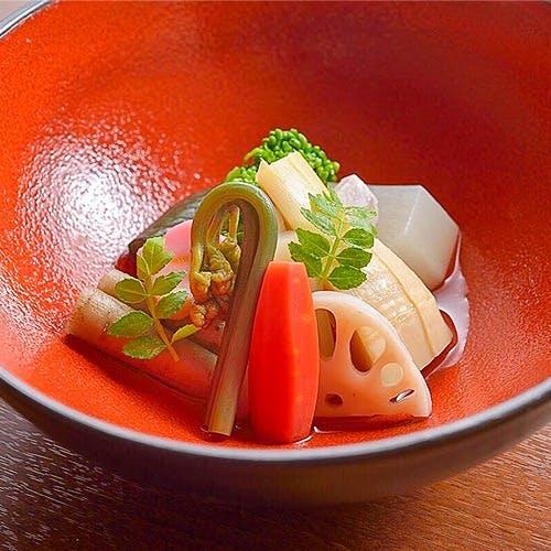 旬を味わう日本料理