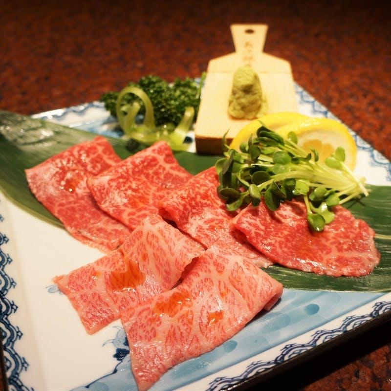 【響亭和牛コース】1ドリンク付!厳選肉盛り合わせ、デザートなど全5品