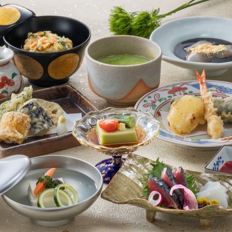 【3大特典付!アニバーサリープラン】前菜、揚物、強肴など全7品