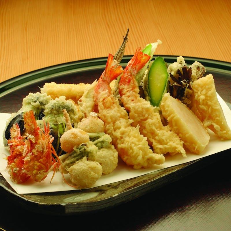 【天ぷら魚新伝統のコース】天ぷら10品(カウンター席限定)