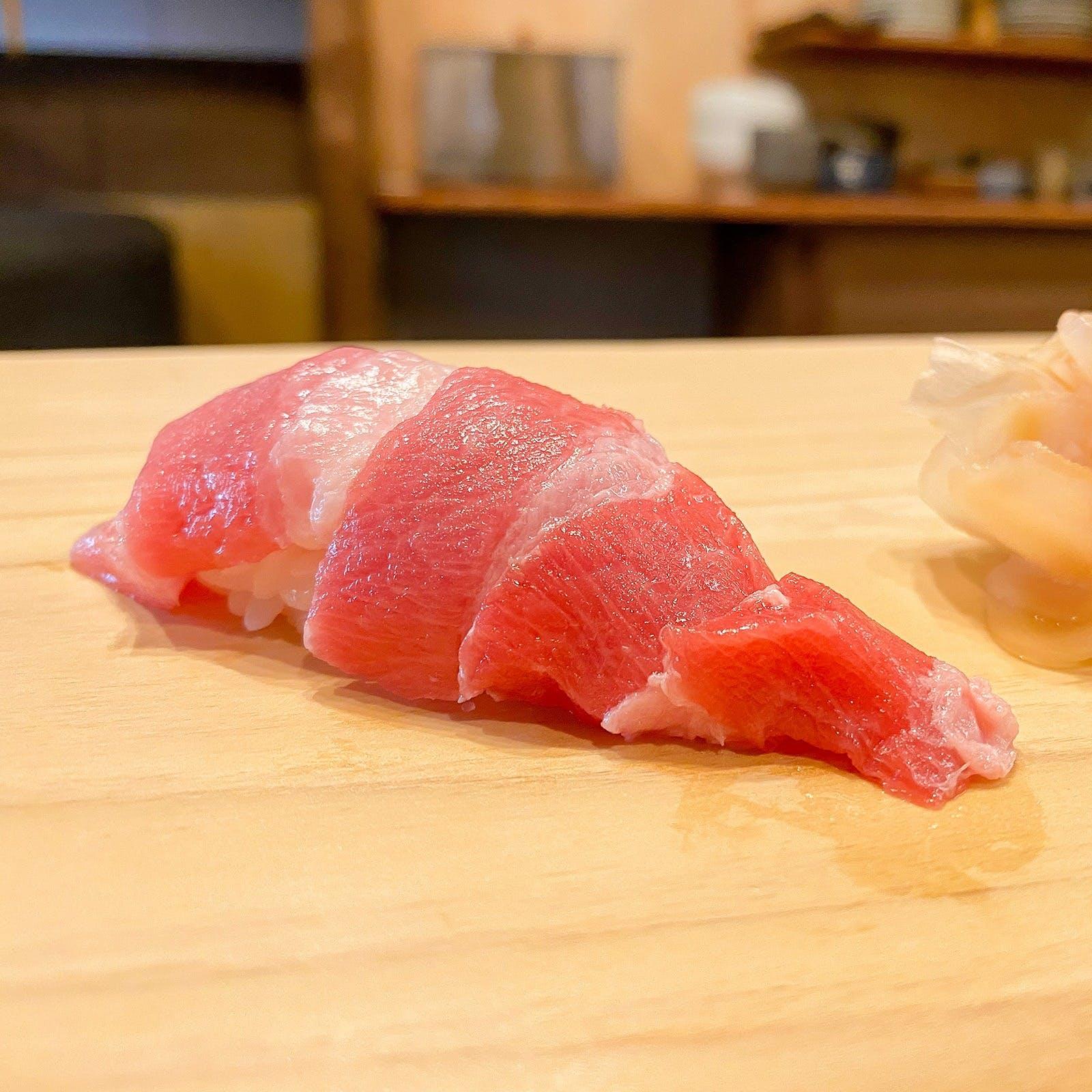 豊かな海の幸による極上のお寿司