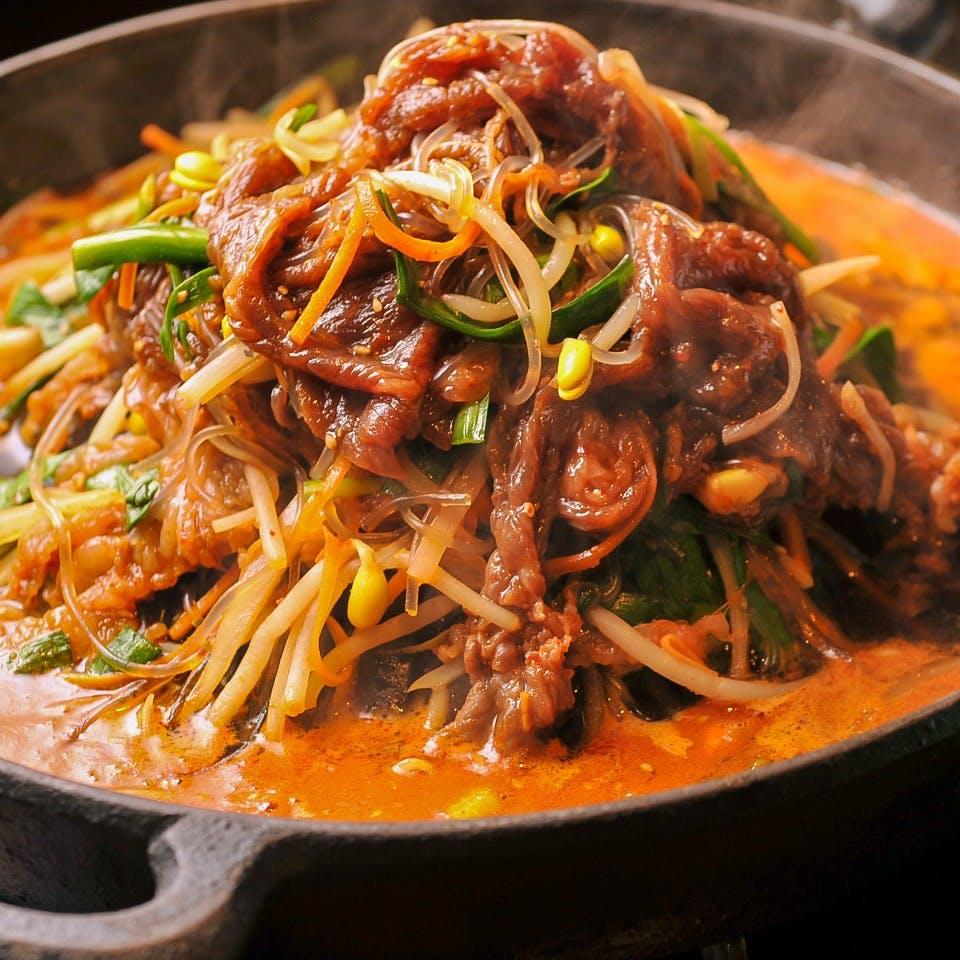 飾り気のない、シンプルな韓国料理