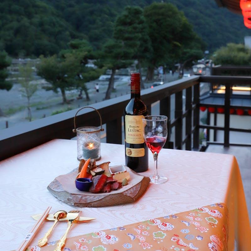 【比叡】近江牛(姫和牛)鉄板焼き、季節の天ぷら、造りなど全8品