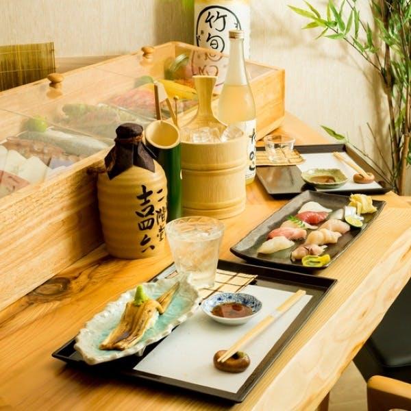 料理に寄り添うようにセレクトされた日本酒