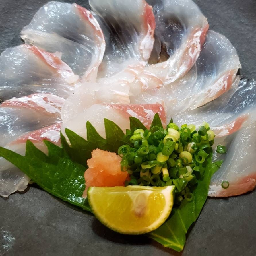 新鮮な活魚でおもてなし