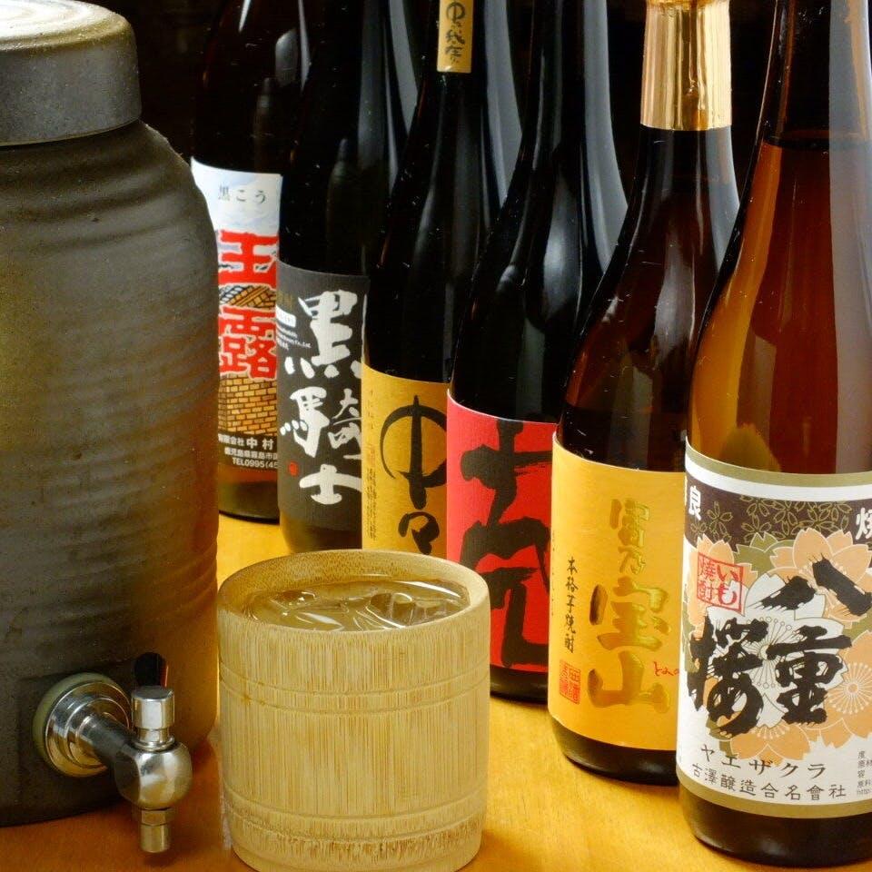 当店でしか味わえない日本酒たち