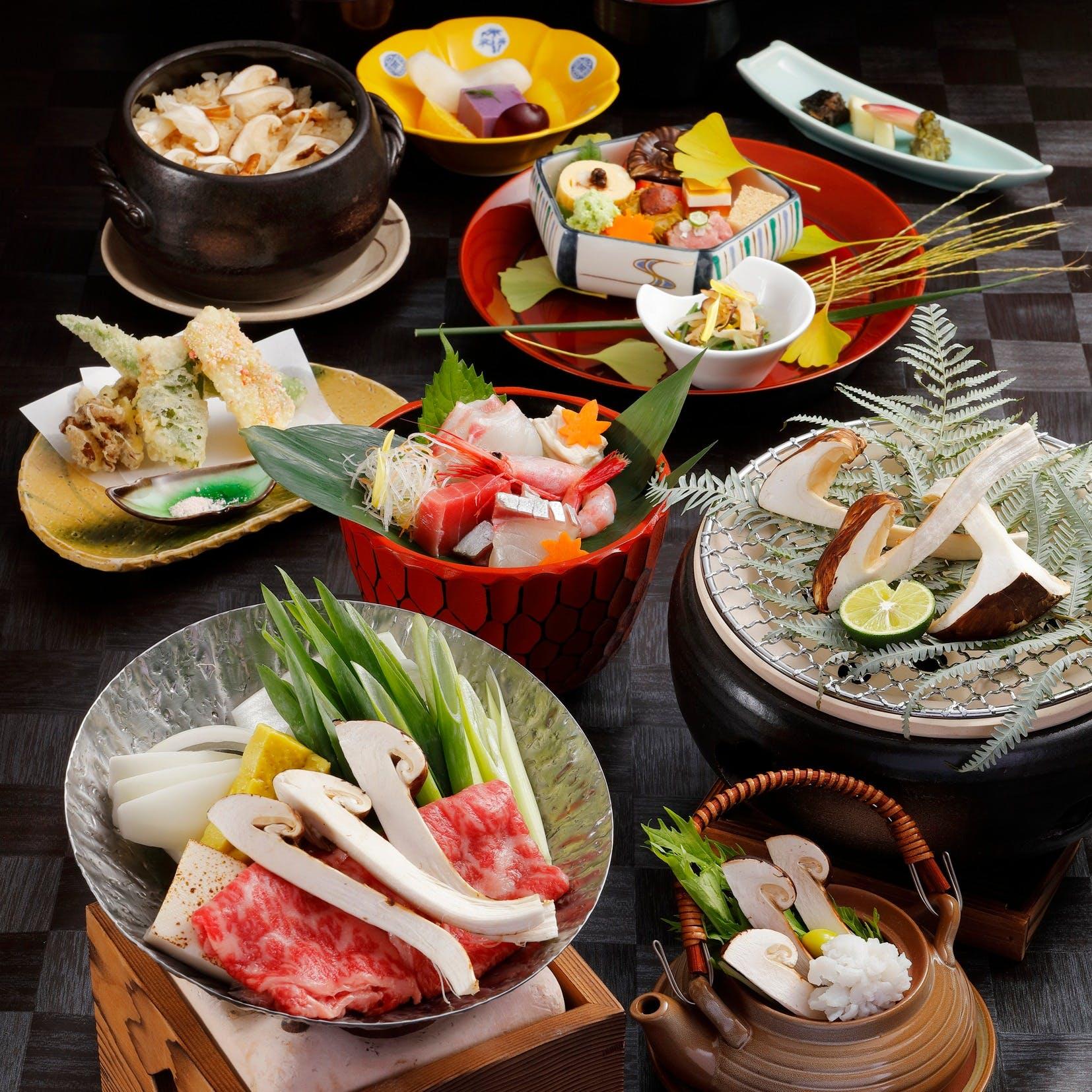 京都直送の食材を使用