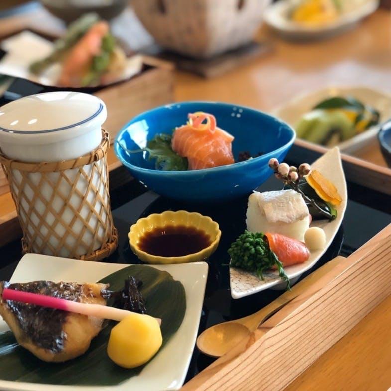 料理長の拘りが詰まった四季折々の京料理