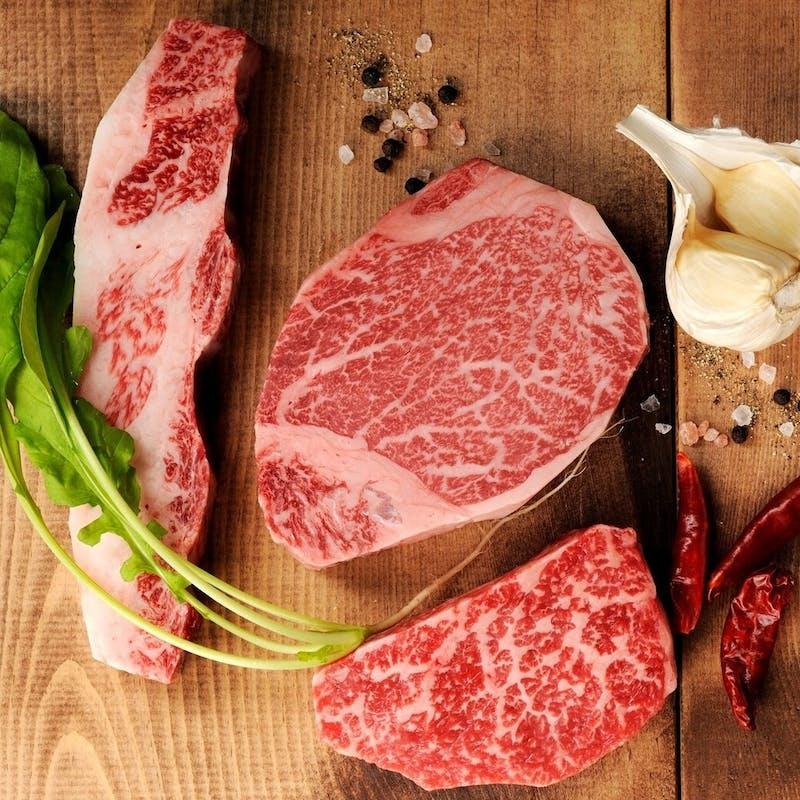 【二郎セット】上塩タン、和牛ヒレ、和牛焼きすき、二郎冷麺など