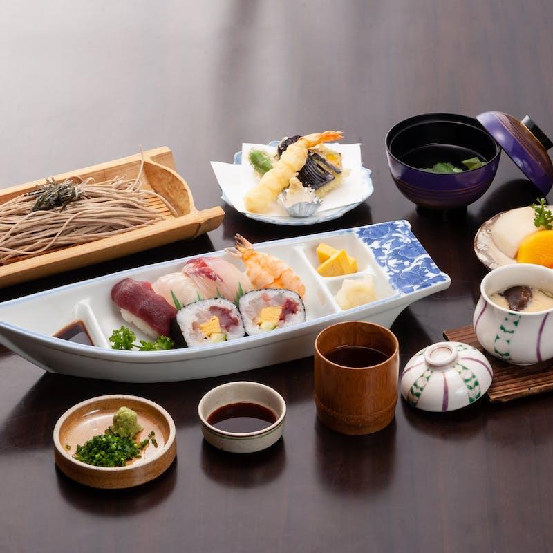 【寿司御膳】にぎり寿司7貫など全5品