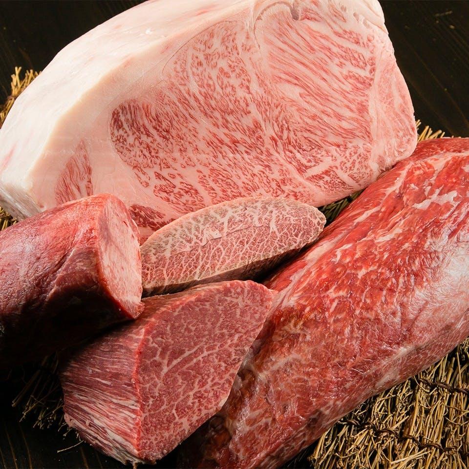 贅沢を極めた至福の美味しさ「特選黒毛和牛」
