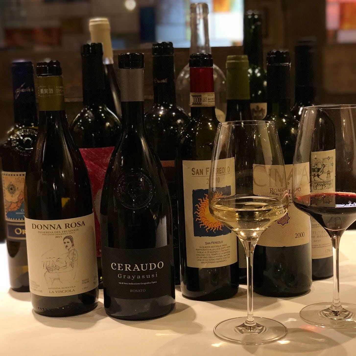 豊富な品揃えの自然派ワイン