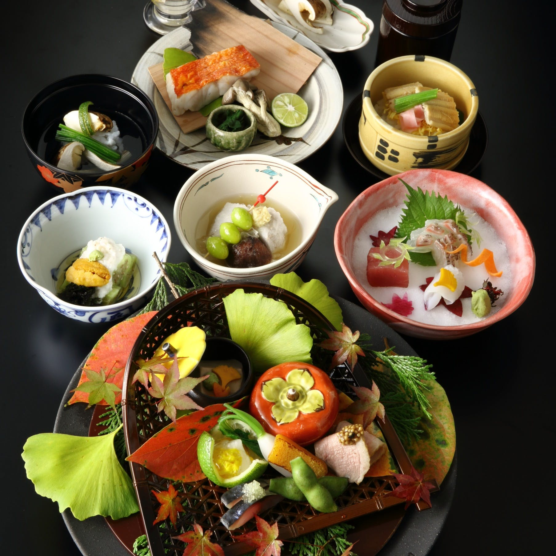 料理人の繊細な技が冴える日本料理の粋を堪能