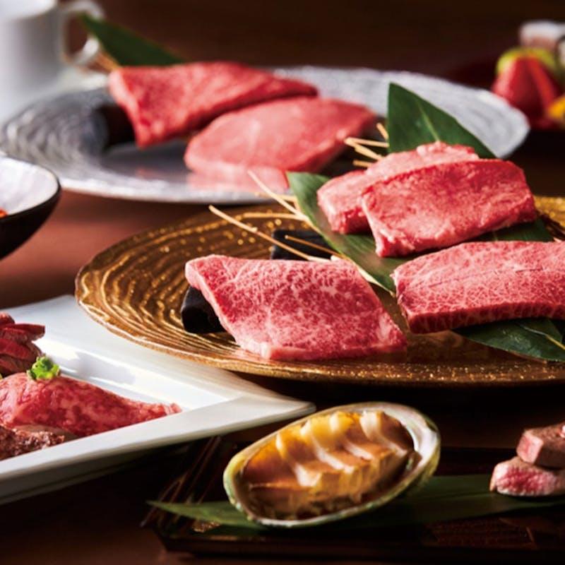 【トラジスペシャルコース】オードブル4種、特選サーロイン・ハラミ含む焼物7種など