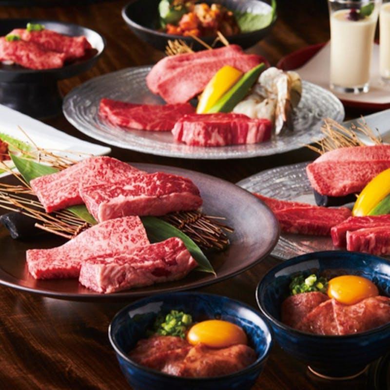 【プレミアムコース】オードブル5種、焼物6種、デザートなど