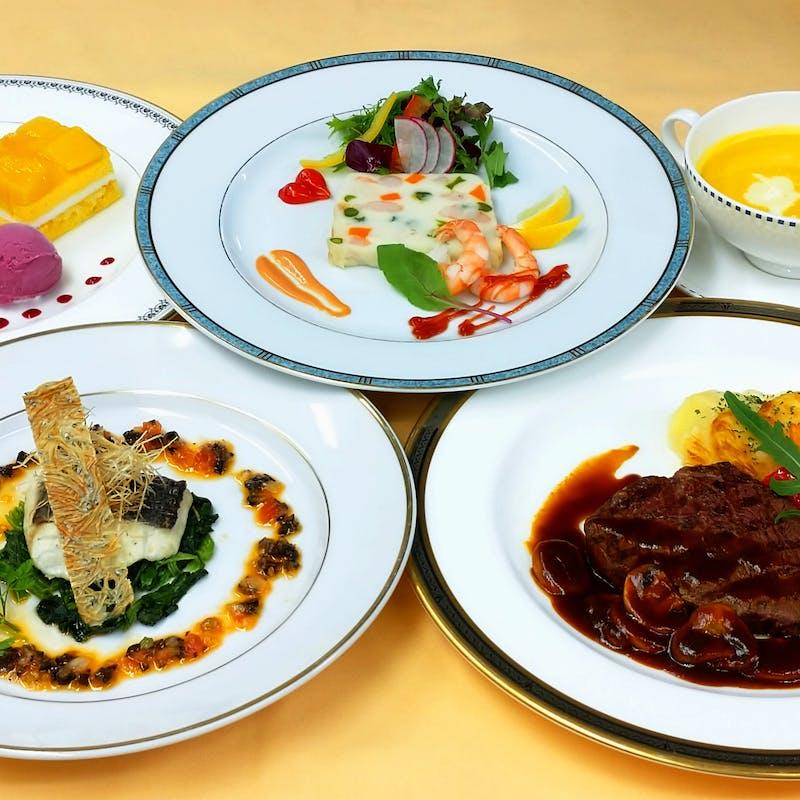 季節の洋食コース全5品 <オパール>+選べる1ドリンク