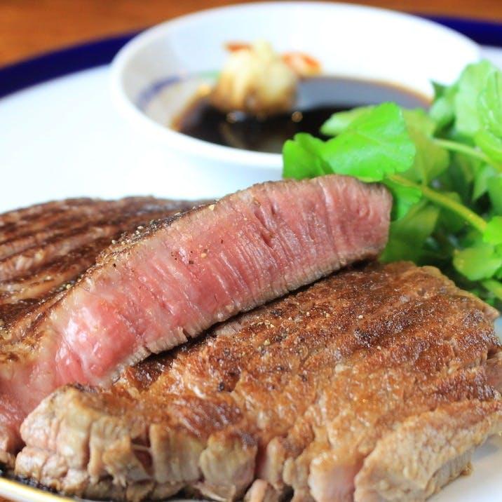 ヘルシーで柔らかなサシ入り赤身肉「フィレ」