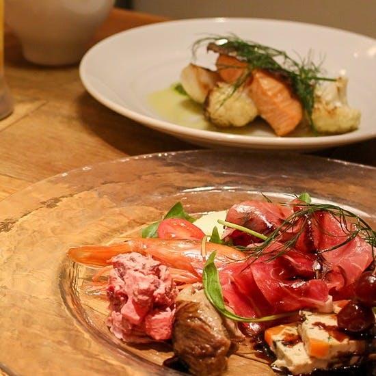 シェフ渾身の一皿、本格フランス料理をお気軽に…