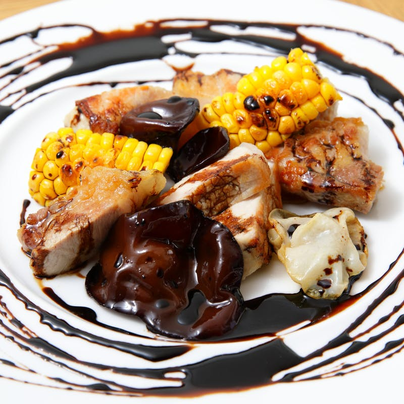 【欲張りコース】魚&肉のWメインやパスタなど全8品+ウェルカムドリンク
