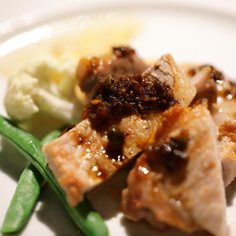 【シェフおまかせ特別コース】魚&選べる肉のWメインなど全8品+ウェルカムドリンク