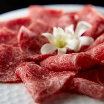 【しゃぶしゃぶランチ】+飛騨牛100g、10種超えの季節サラダなど(平日限定)