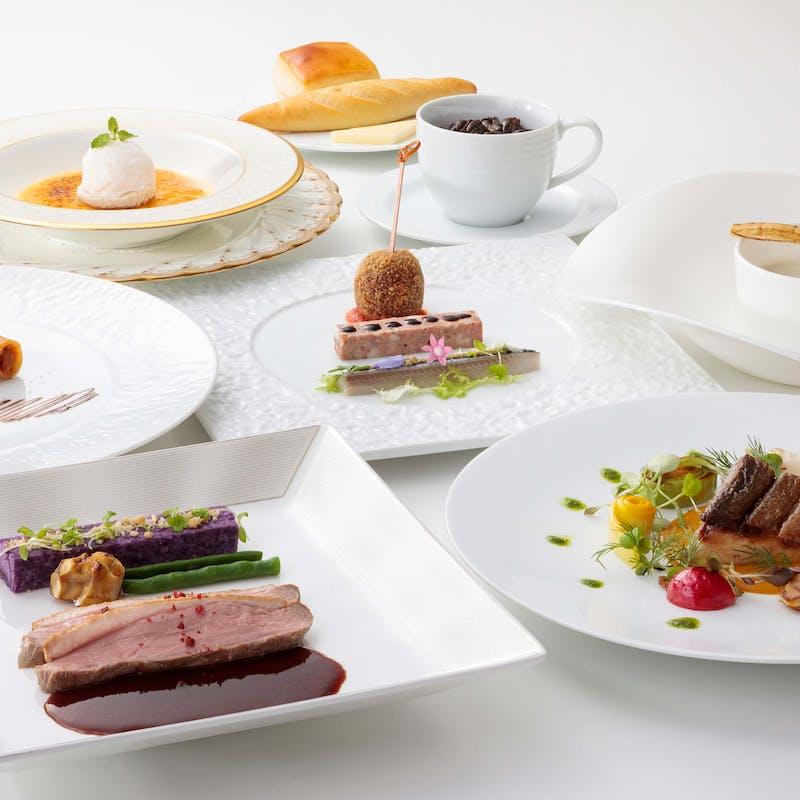 【バンブ コース~bambou cours~】前菜、パスタ、選べるメインなど全5品