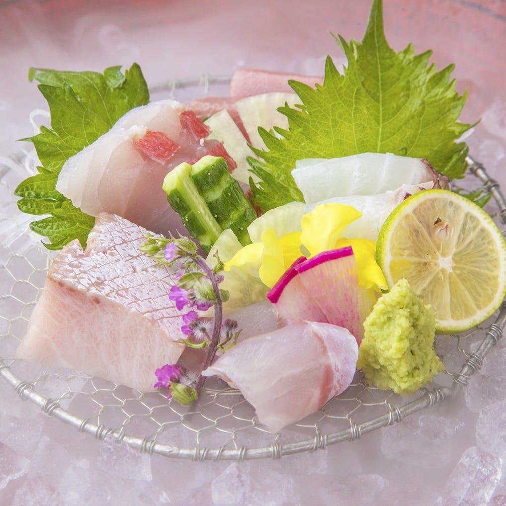 厳選した美味しい魚をご用意しております